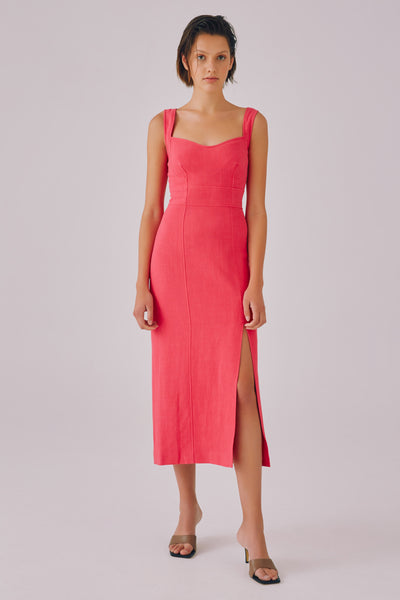 C/meo Collective - Clear Message Midi Dress