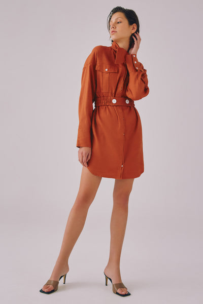 C/meo Collective - Authority Long Sleeve Dress