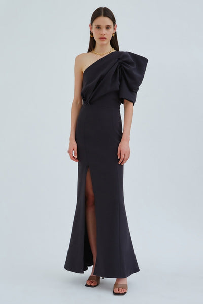 C/meo Collective - Architectural Gown - Black - Sample