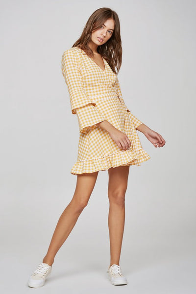 The Fifth Label - Idyllic Wrap Dress - Lalabazaar