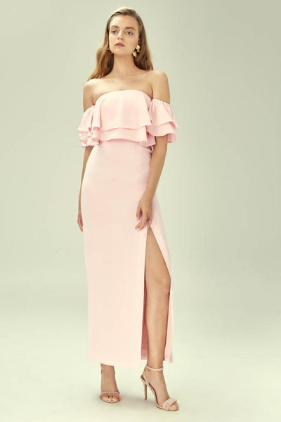 Keepsake The Label - Two Fold Gown - Lalabazaar