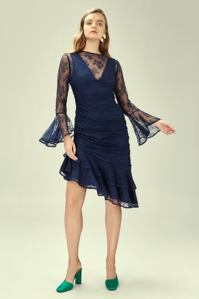 Keepsake The Label - Get Free Lace Long Sleeve Dress - Lalabazaar