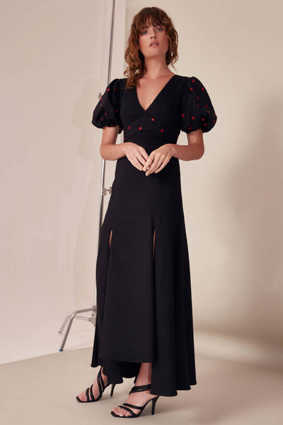 C/meo Collective - Harmonious Short Sleeve Gown - Lalabazaar