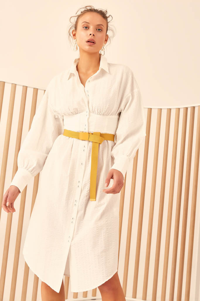 C/meo Collective - Reform Long Sleeve Dress - Lalabazaar