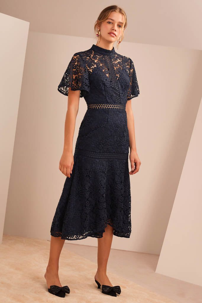Keepsake The Label - Utopia Lace Midi Dress