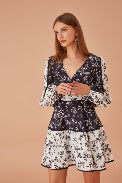 Keepsake The Label - Depend Long Sleeve Dress