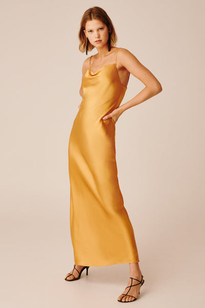 Keepsake The Label - POLARISED GOWN MUSTARD
