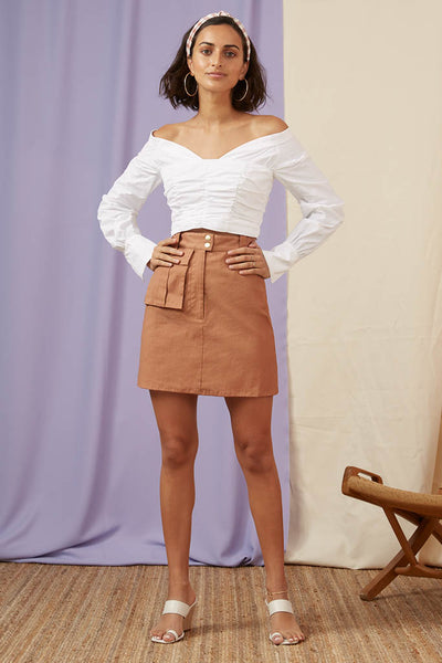 Finders Keepers The Label  -Utility Skirt - Lalabazaar