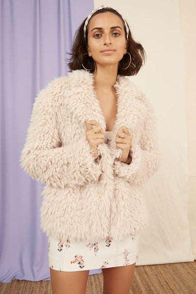 Finders Keepers The Label - Bonny Fur Jacket - Lalabazaar