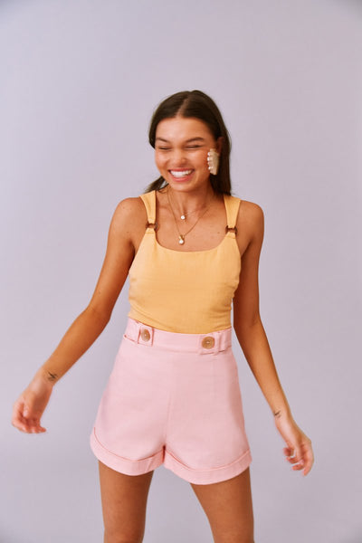Finders Keepers The Label - Valentina Shorts -  Blush