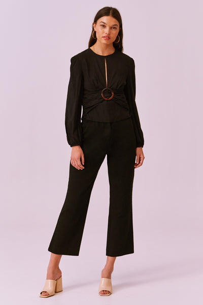 Finders Keepers The Label - Drape Long Sleeve Top