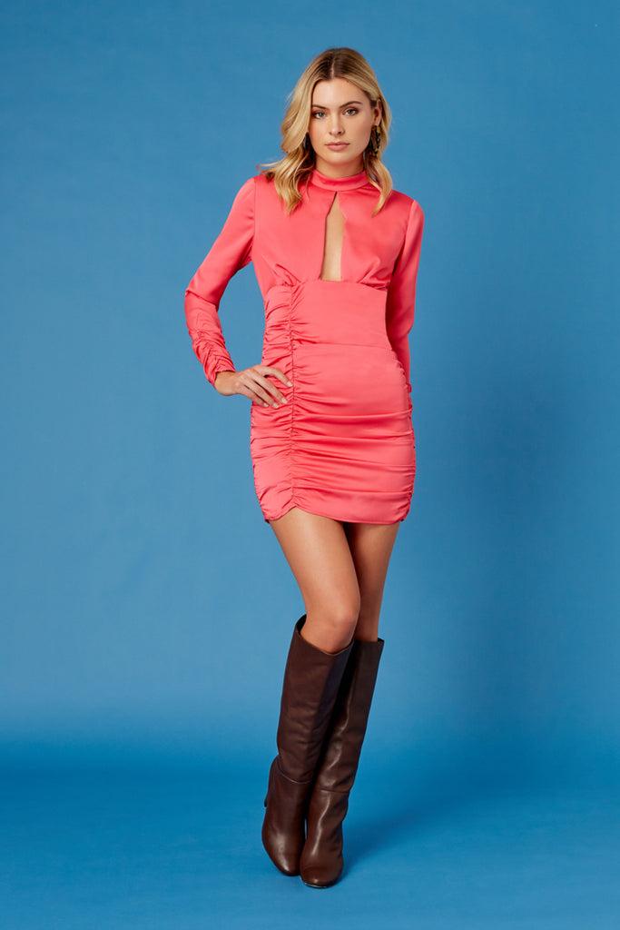 Finders Keepers The Label - Coco Cabana Long Sleeve Dress