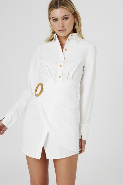 Finders Keepers The Label - Naya Shirt Dress (Sample)