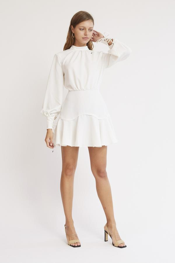Finders Keepers - Soleil Mini Dress - Ivory - sample