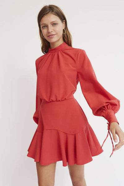 finders keepers Soleil mini dress - red - sample