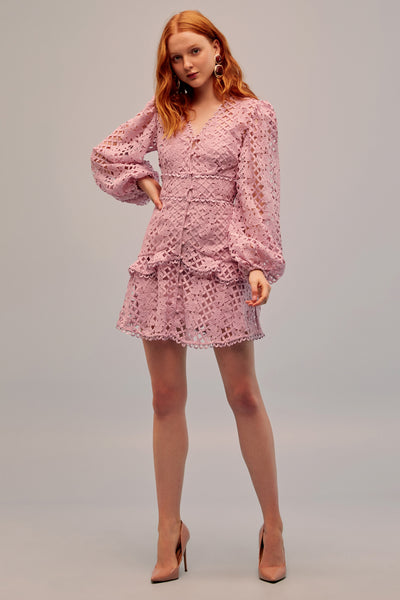 Keepsake The Label - Lovable Lace Mini Dress