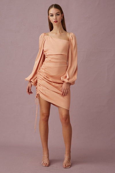 Keepsake The Label - Be There Mini Dress - Apricot - sample