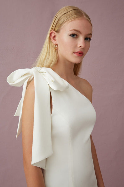 Keepsake The Label - Your Touch Midi  Dress - white - sample