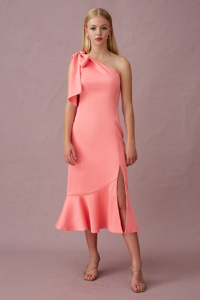 Keepsake The Label - Your Touch Midi  Dress - Pink - sample