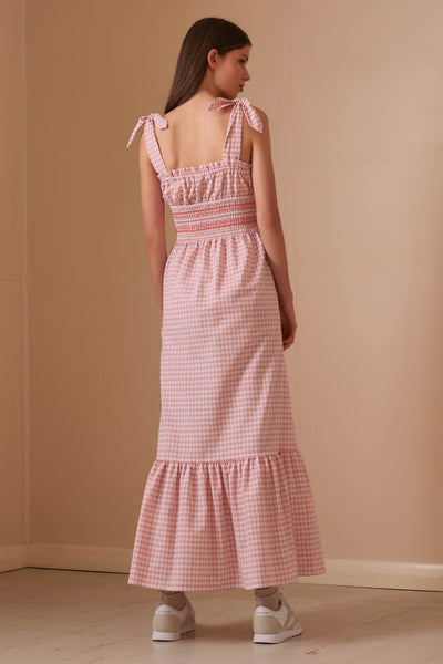 The Fifth Label - Iris Check Maxi Dress