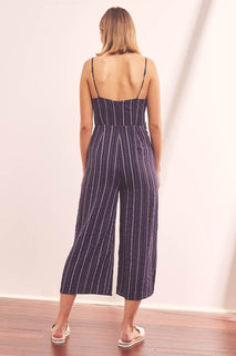 efe8484db4 The Fifth Label - Coast Stripe Jumpsuit Lalabazaar