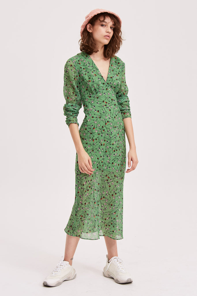 The Fifth Label - Medley Long Sleeve Midi Dress