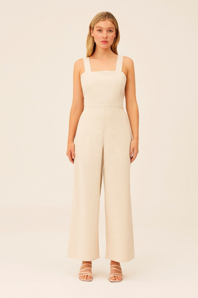 The Fifth Label - Jaime Jumpsuit - Wheat - Sample