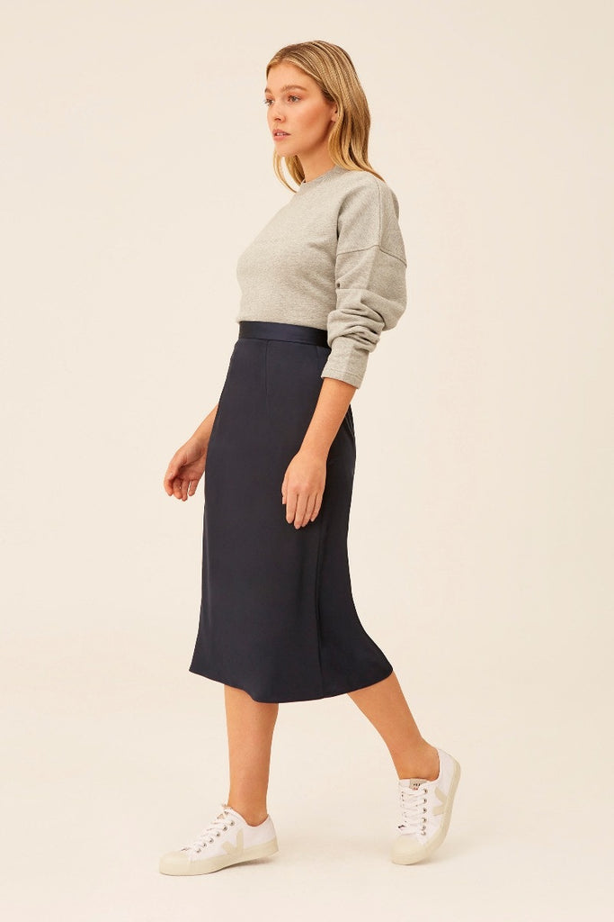 The Fifth Label - Fusion Skirt - Deep Navy - sample