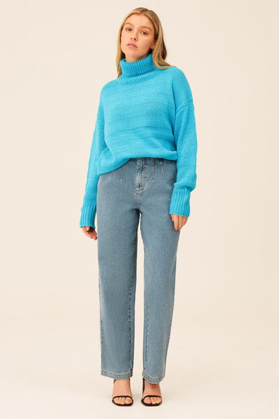 The Fifth Label - Bonded Knit - Powder Blue - Sample