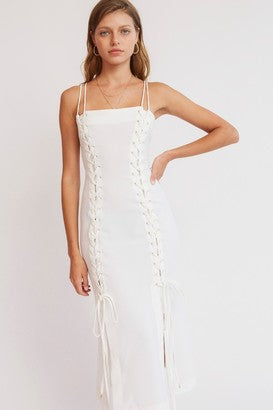 Finders Keepers - Soleil Dress - White - Sample