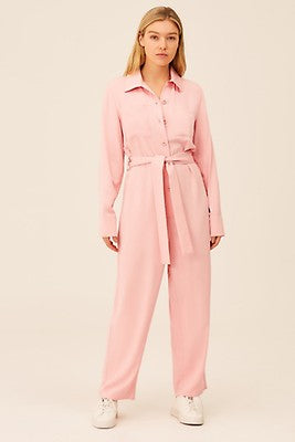 The Fifth Label - Occasion L/S Jumpsuit - Pale Pink - Sample