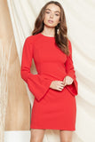 PS The Label - Bijou Long Sleeve Dress - Lalabazaar