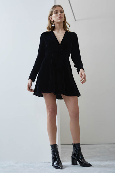 C/meo Collective - Fading Nights Long Sleeve Dress - Lalabazaar