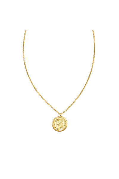 Jolie & Deen - Clio Coin Necklace