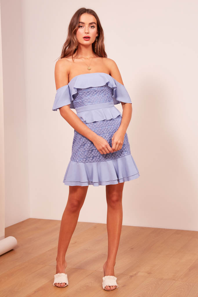 25832afdab904 Finders Keepers The Label - Afterglow Mini Dress - Lalabazaar
