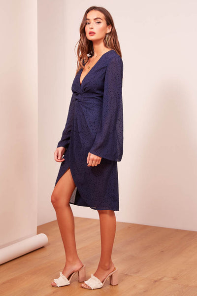 Finders Keepers The Label - Secrets Long Sleeve Dress