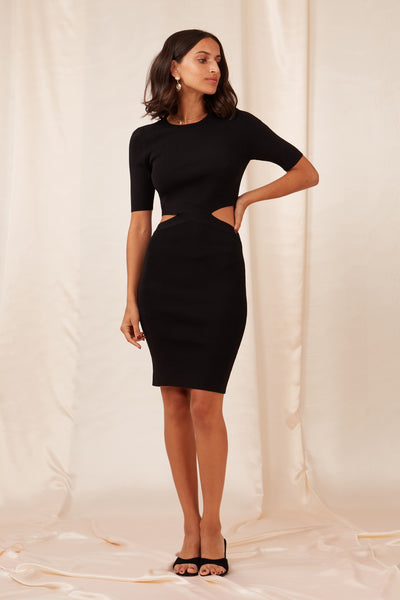 Finders Keepers The Label - Marina Knit Dress - Lalabazaar