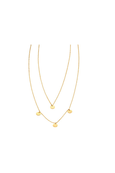 Jolie & Deen - 2 Layer Maya Necklace