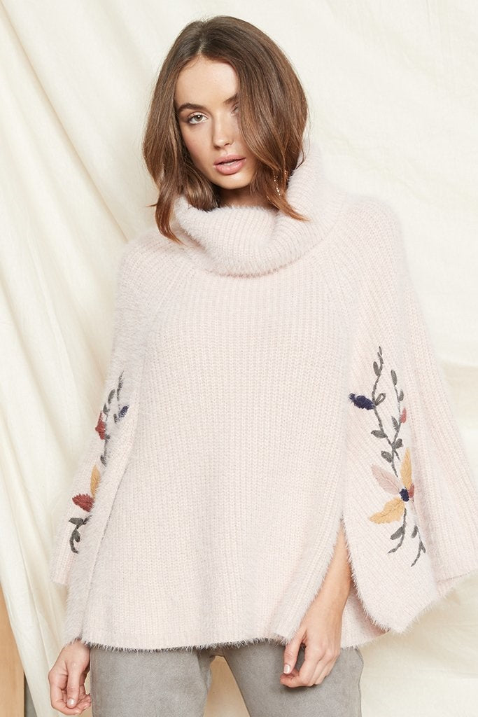 PS The Label - Daybreak Knit Poncho - Lalabazaar