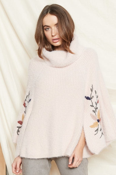 PS The Label - Daybreak Knit Poncho