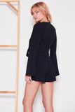 The Fifth Label - Chemistry Long Sleeve Playsuit - Lalabazaar