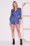 The Fifth Label - Syllabus Long Sleeve Playsuit