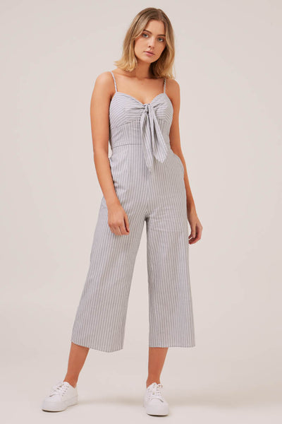 The Fifth Label - Devotion Stripe Jumpsuit