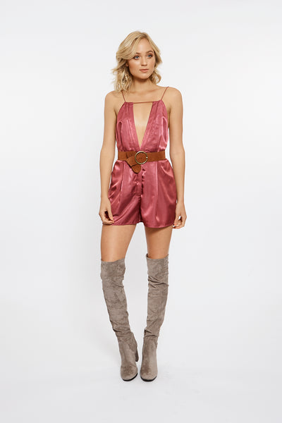 Finders Keepers The Label - Kahlo Playsuit - Lalabazaar