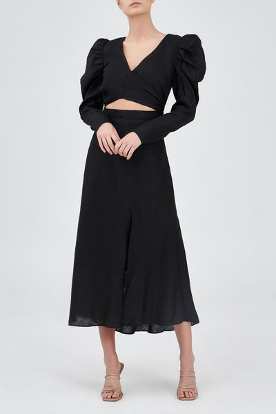 Keepsake The Label - I Know Midi Dress - Black - Sample