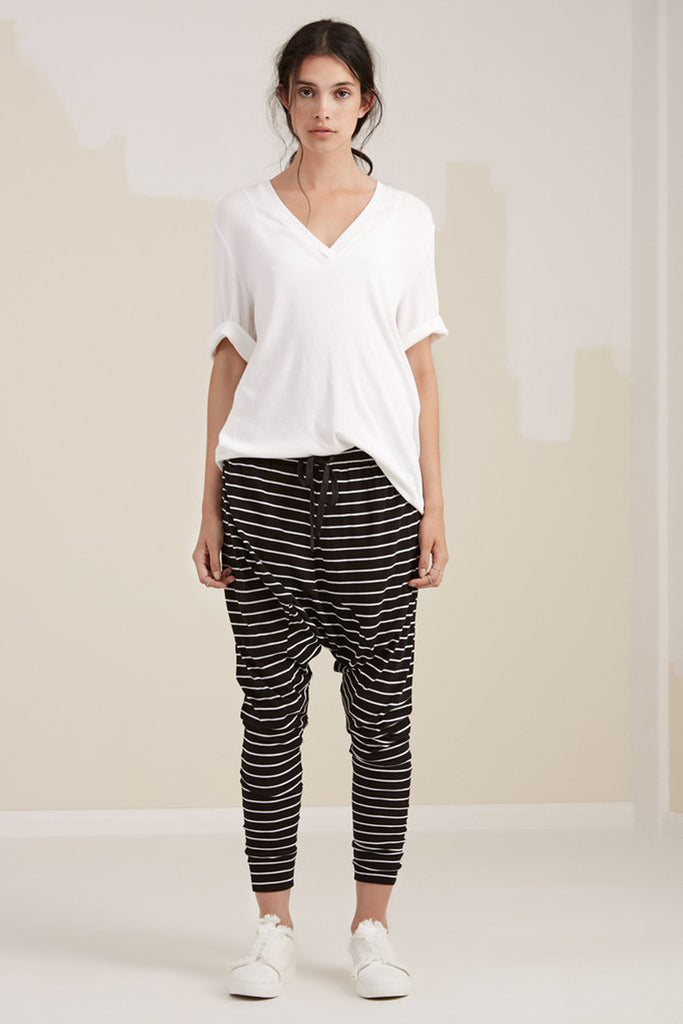 Model wearing Fifth Label Loose pants