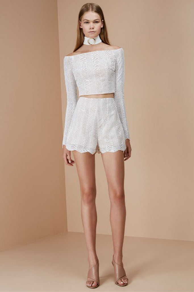 Keepsake The Label - Think Twice Lace Shorts - Lalabazaar