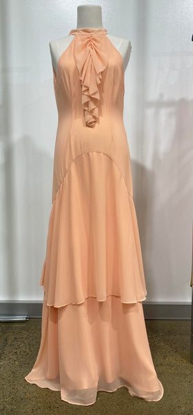Keepsake The Label - No Love Gown - Coral - sample