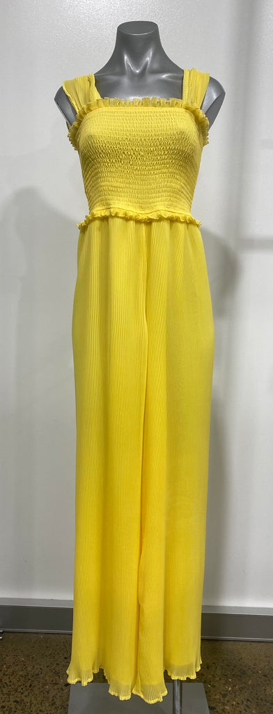 Finders Keepers - Bijou Pantsuit - Yellow - Sample