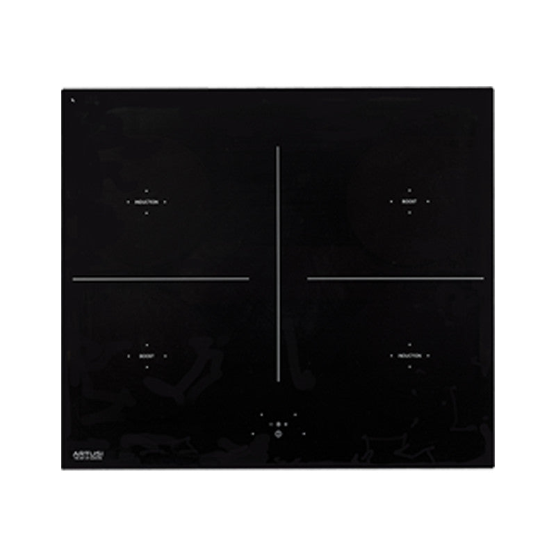 Artusi AID61 60cm Black Glass Induction Cooktop - Electric